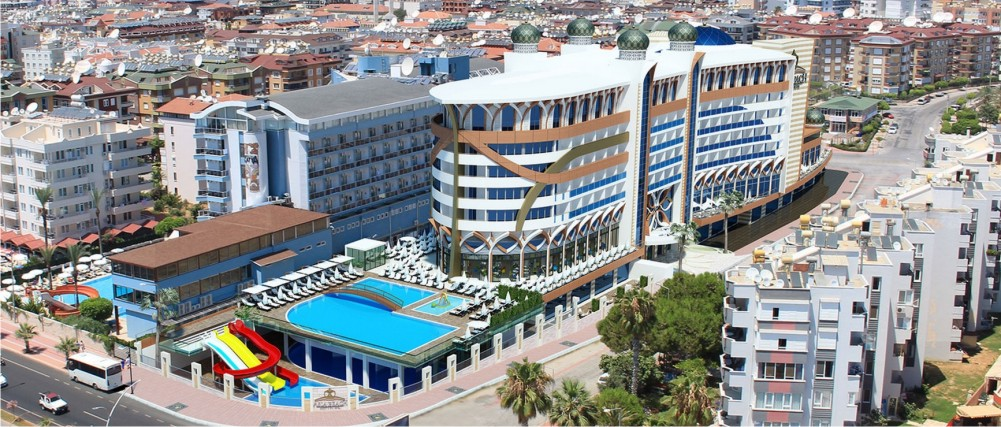 Asia Beach Resort & Spa Hotel, Alanya-Antalya