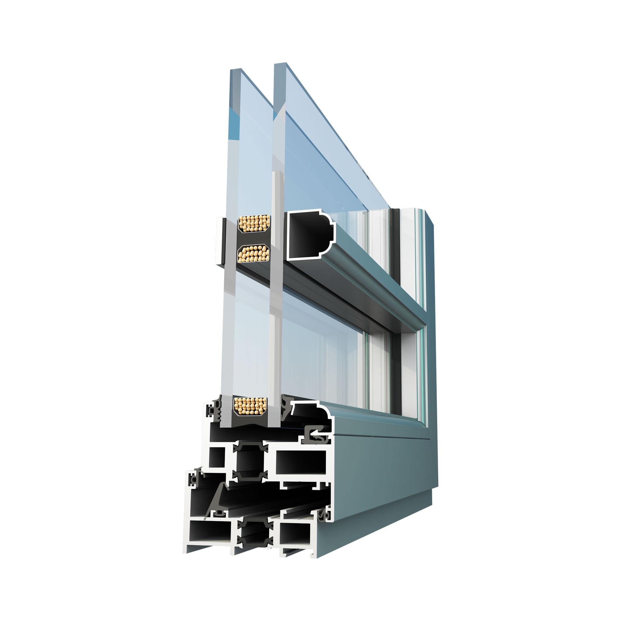 SLIM 82 T Kapı ve Pencere Sistemi