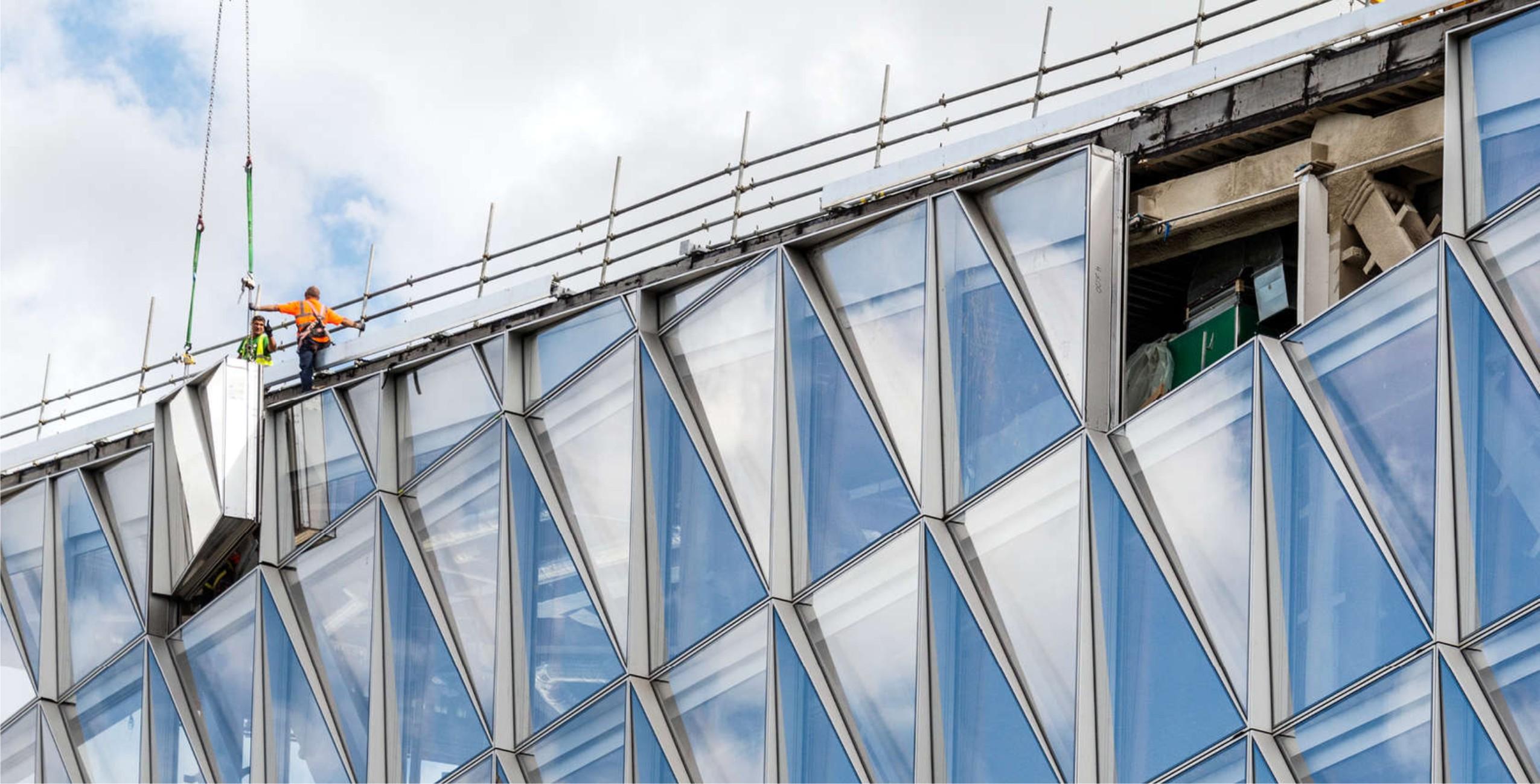 Usg 80 Unitized Facade System Kleidco Aluminium Building